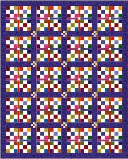 nine patch double sash